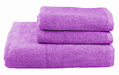 Полотенце махровое 70х140 лиловое 430 г/м²