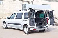 Обшивка задних дверей со скотчем 3М Lada (ВАЗ) Largus (универсал) 2015+ Ларгус