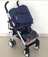 Прогулочная коляска-трость CARRELLO Allegro  Aviation Blue