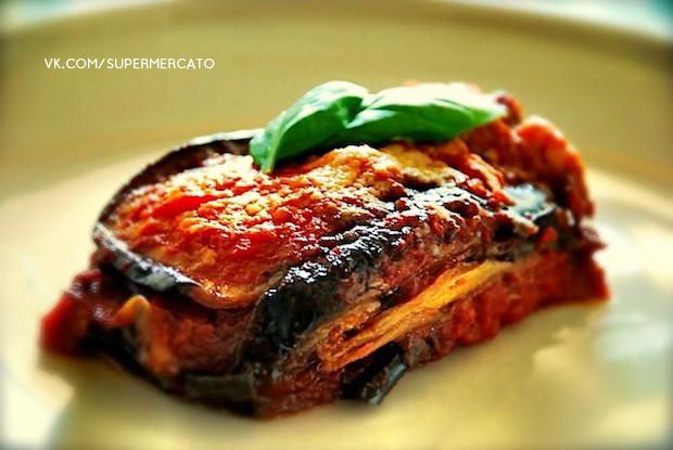 Запеченные баклажаны «Parmigiana»