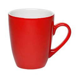 Чашка керамическая конусная цветная 350 мл