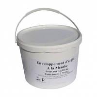 Обгортання біла глина + м'ята для тіла,2,5 кг, Nectarome