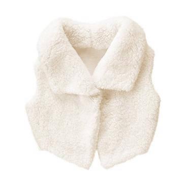 Детская меховая жилетка Gymboree размер M (7-8) для девочки детские нарядные жилетки, фото 2