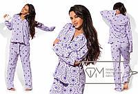 Пижама женская фиолетовая UD/-06987