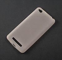 Чехол TPU для Xiaomi Redmi 4A белый матовый