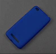 Чехол TPU для Xiaomi Redmi 4A синий матовый