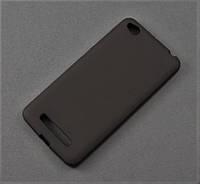 Чехол TPU для Xiaomi Redmi 4A черный матовый
