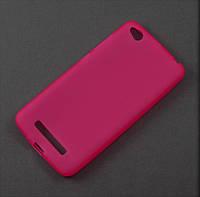 Чехол TPU для Xiaomi Redmi 4A розовый матовый