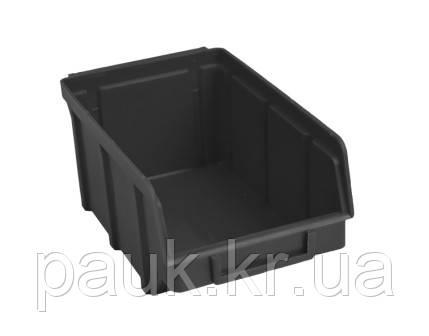 Ящик для метизов 702 В/С, пластиковый торговый ящик, из вторичного сырья