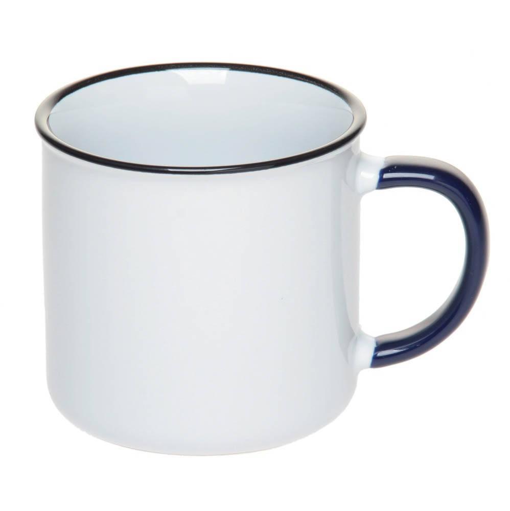 Чашка керамическая с каемочкой 305 мл