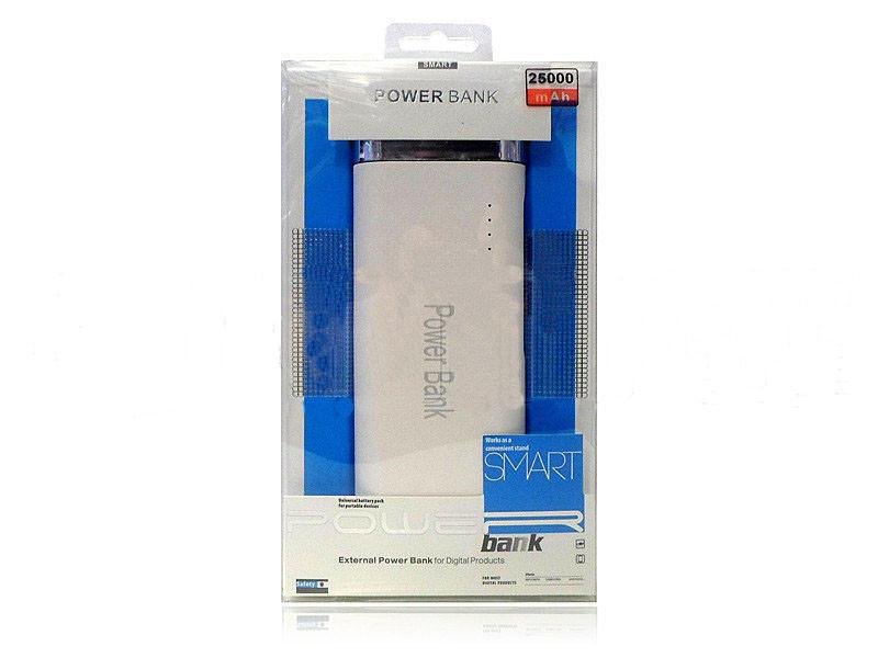 Power Bank 25000 mah. Внешний аккумулятор, зарядка телефона USB 2 шт, microUSB
