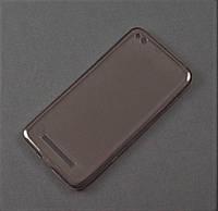 Чехол Remax ультратонкий для Xiaomi Redmi 4A серый прозрачный