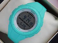 Мужские (женские) спортивные наручные часы Skmei бирюзового цвета, фото 1