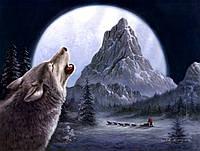 """Картинка вафельная А4 """"Волк 2"""""""