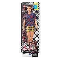 """Кукла Барби """"Модница"""" 2017 Barbie Fashionistas Doll 52 Plaid On Plaid - Tall Doll"""