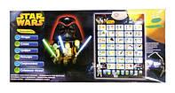 Интерактивный обучающий плакат азбука Star Wars Звездные войны, укр