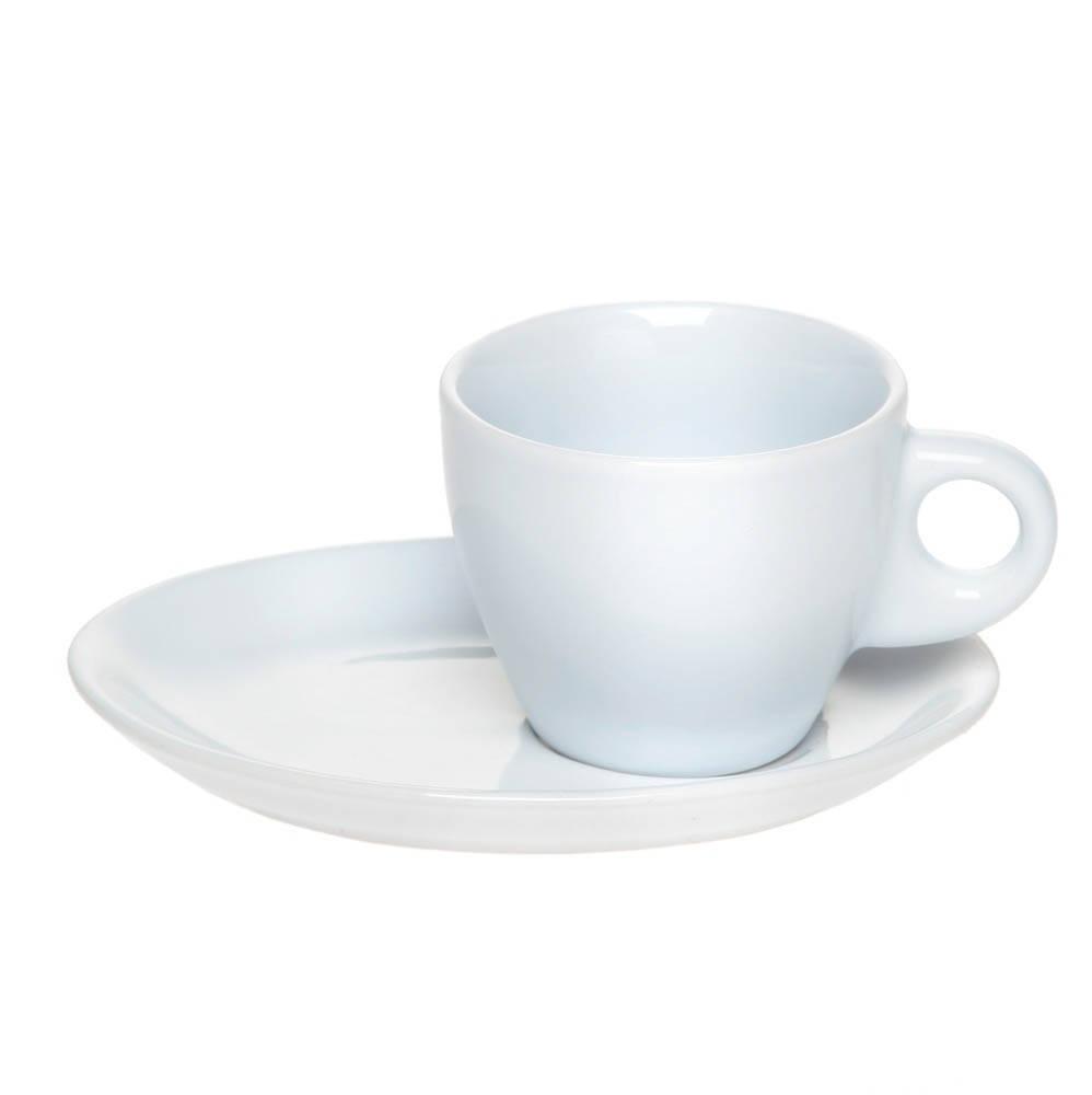 Чашка с блюдцем кофейная 98 мл под нанесение логотипа