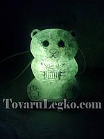 Соляная лампа Мишка (2.5 кг)