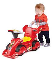 """Игрушка Weina машина-каталка """"Формула 1"""", машинка каталка с родительской ручкой"""
