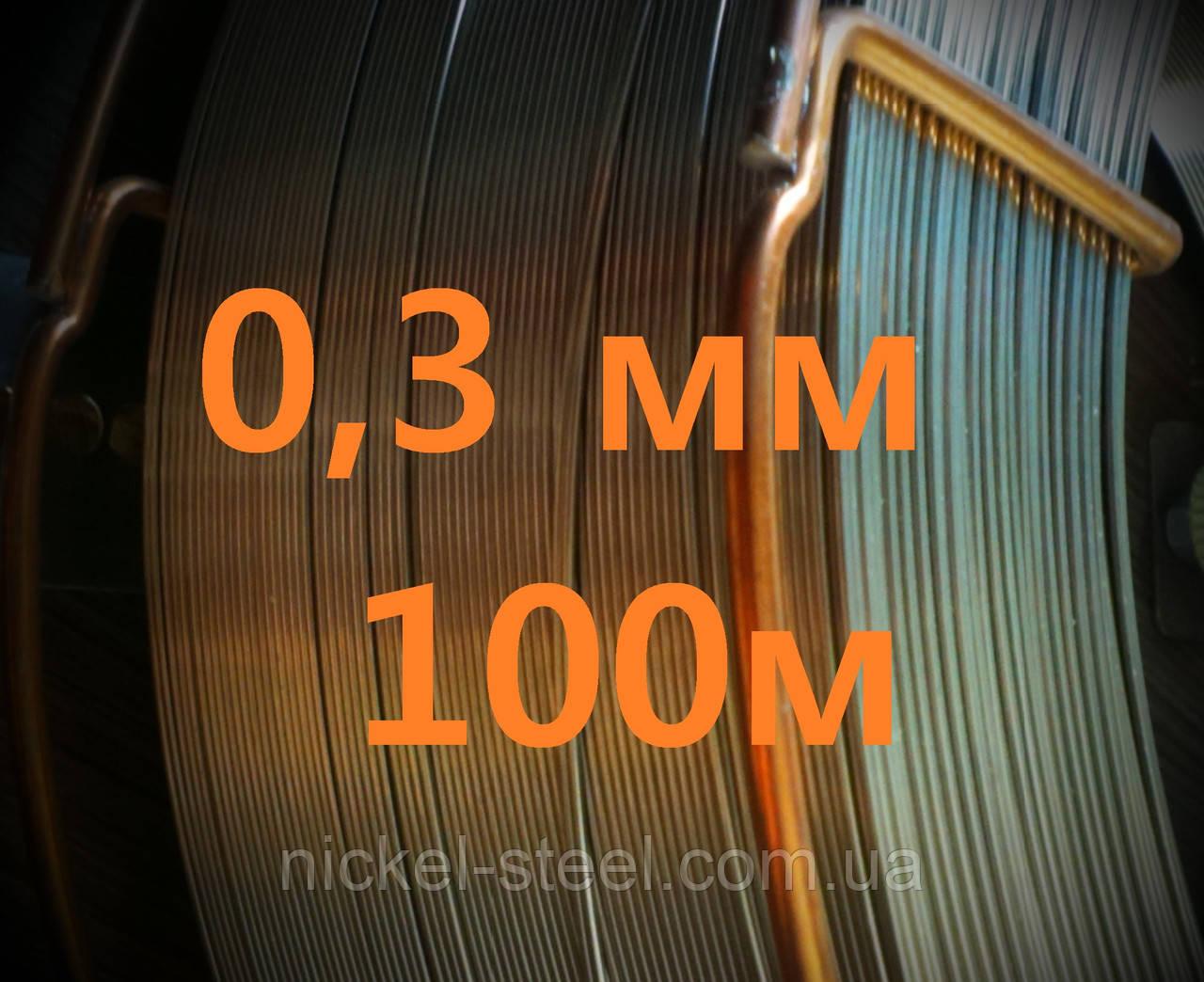 Проволока нержавеющая 0,3 мм 1000 метров