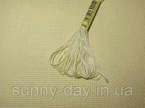 Канва для вышивки Аида 14 кремовая  50*50см