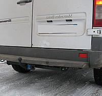 Фаркоп на Volkswagen LT (1995-2006) с подножкой. Фольксваген ЛТ