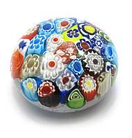 Сфера хрустальная с узором (6х6х3,5 см)