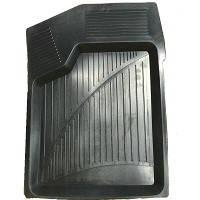 Коврики резиновые черные Lada 2108-21099/2113-2115 (2шт. передние) РТИ корыто