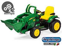 Детский электромобиль-трактор Peg-perego John Deere Ground Loader