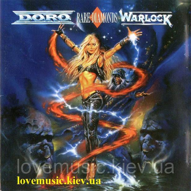 Музичний сд диск DORO & WARLOCK Rare diamonds (1991) (audio cd)