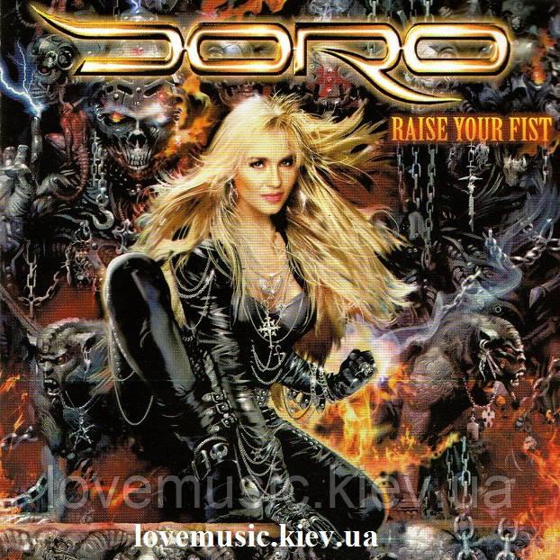 Музичний сд диск DORO Raise your fist (2012) (audio cd)