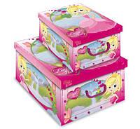 """Коробка для хранения вещей """"Принцесса"""" 40*50*25 см, Evoluzione (Италия)"""