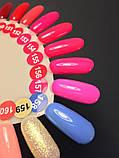 Гель-лак Nice for you № 157 (кукольный розовый, эмаль) 8.5 мл, фото 4