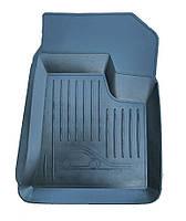 Коврики резиновые черные Lada 2110/11/12 /Приора (2шт. передние) РТИ корыто