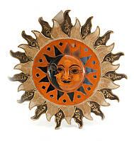 "Зеркало мозаичное ""Солнце и Луна"" (d-30 cм)"