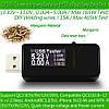 USB тестер вимірювач до 30V струму ємності, фото 2