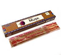 Supreme Musk (Муск)(15 gm) (12 шт/уп)(Satya) пыльцовое благовоние