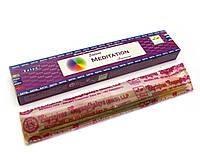 Supreme Meditation (Медитация)(15 gm) (12 шт/уп)(Satya) пыльцовое благовоние