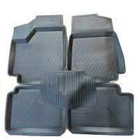 Коврики резиновые черные ВАЗ 2121 Нива (5 штук) РТИ корыто
