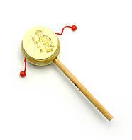 Барабан-трещетка с рисунком (20,5х6,5х3,5 см)