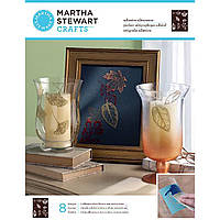 Трафарет для керамики и стекла Martha Stewart Crafts - Leaves Glass Silkscreen 33235