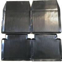 Коврики резиновые черные Lada 2101-2107 (4шт.) корыто ROZMA