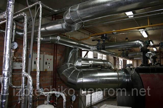 Теплоизоляция трубопроводов, утепление труб в Одессе - ООО «ИЗОТЕХ И КО» в Одессе