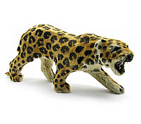 """Леопард (из кожи и меха) (12"""")(45х15х9 см)"""