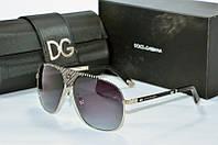 Солнцезащитные очки квадратные Dolce & Gabbana черные