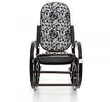 Кресло качалка темное узор XXL, фото 3