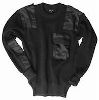 Свитер военный Commandos (шерстяной) - Чёрный (Black)