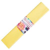 Бумага гофрированная 2 желтая 50*200 см (Мицар)