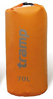 Гермомешок Tramp PVC 70 л (оранжевый) (TRA-069.2)