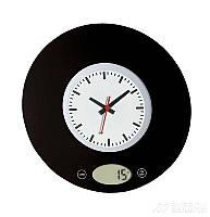 Весы /часы кухонные электронные MYSTERY MES-1814, черный